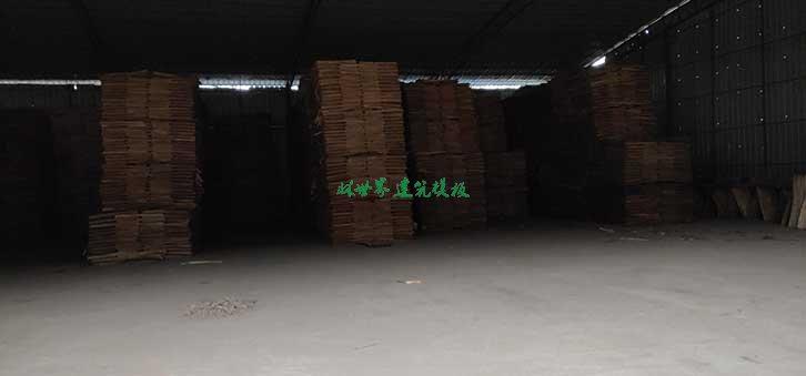 建筑模板厂家仓库