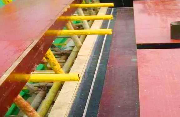 优质建筑覆膜板在工程中使用情况良好